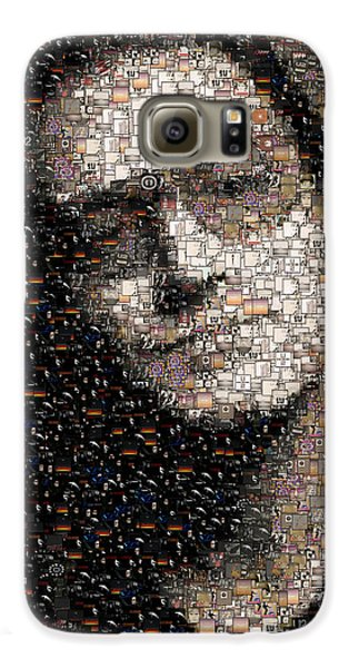 Bono U2 Albums Mosaic Galaxy S6 Case by Paul Van Scott