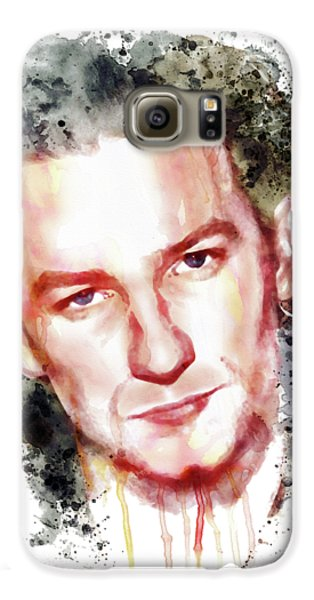 Bono Vox Galaxy S6 Case by Marian Voicu