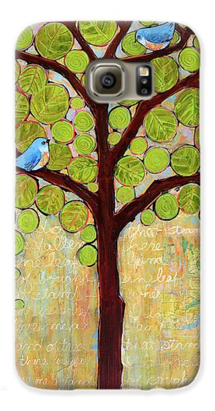 Boughs In Leaf Tree Galaxy S6 Case by Blenda Studio