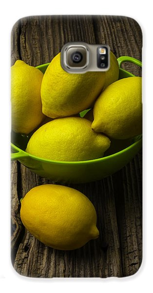 Bowl Of Lemons Galaxy S6 Case by Garry Gay