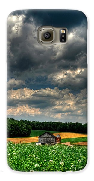 Brooding Sky Samsung Galaxy Case by Lois Bryan