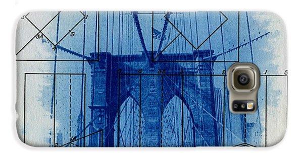 Brooklyn Bridge Galaxy S6 Case by Jane Linders