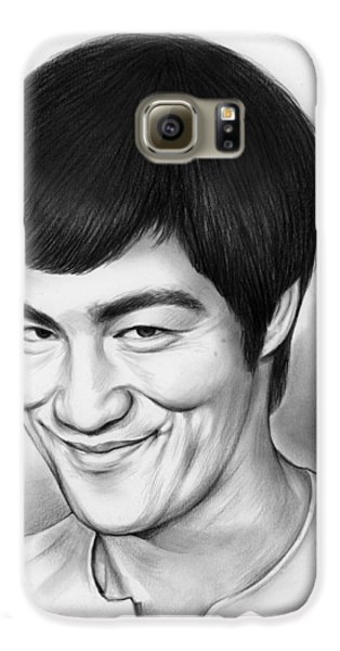 Bruce Lee Galaxy S6 Case by Greg Joens