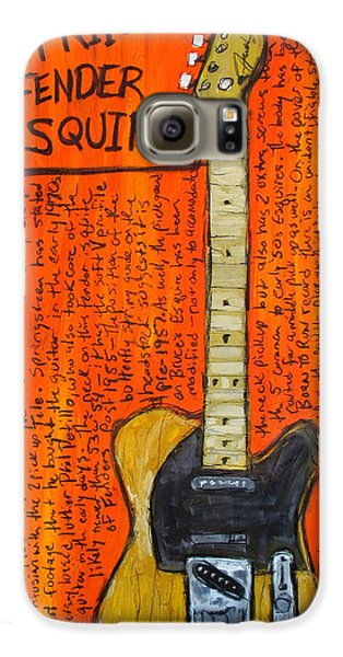 Bruce Springsteen's Fender Esquire Galaxy S6 Case by Karl Haglund