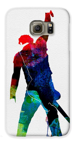 Bruce Watercolor Galaxy S6 Case by Naxart Studio