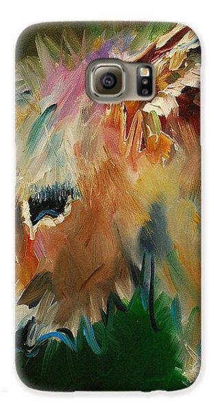 Burro Donkey Galaxy S6 Case by Diane Whitehead
