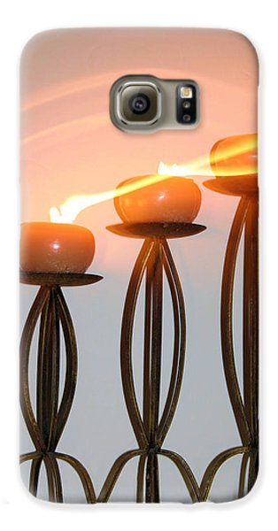 Candles In The Wind Galaxy S6 Case by Kristin Elmquist