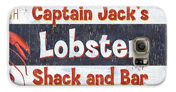 Captain Jack's Lobster Shack Galaxy S6 Case by Debbie DeWitt
