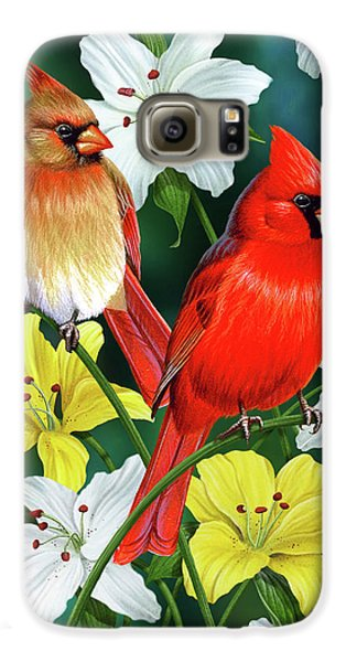 Cardinal Day 2 Galaxy S6 Case by JQ Licensing