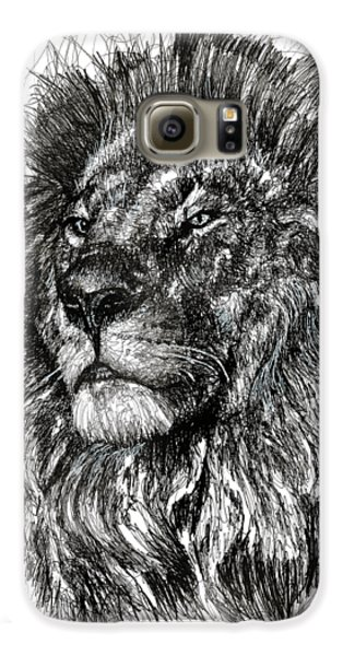Cecil The Lion Galaxy S6 Case by Michael  Volpicelli