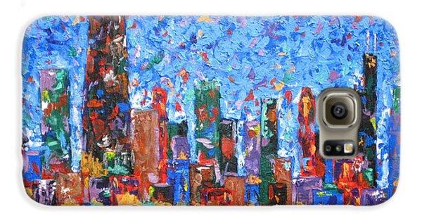 Celebration City Galaxy S6 Case by J Loren Reedy