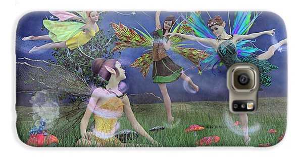 Celebration Of Night Alice And Oz Galaxy S6 Case by Betsy C Knapp