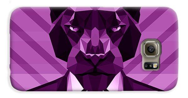 Chevron Panther Galaxy S6 Case by Filip Aleksandrov