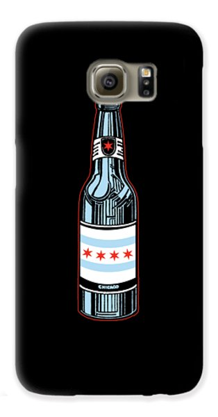 Chicago Beer Galaxy S6 Case by Mike Lopez