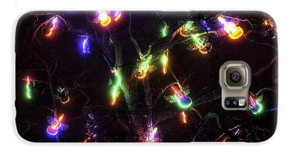 Christmas Violins Galaxy S6 Case by John Rizzuto