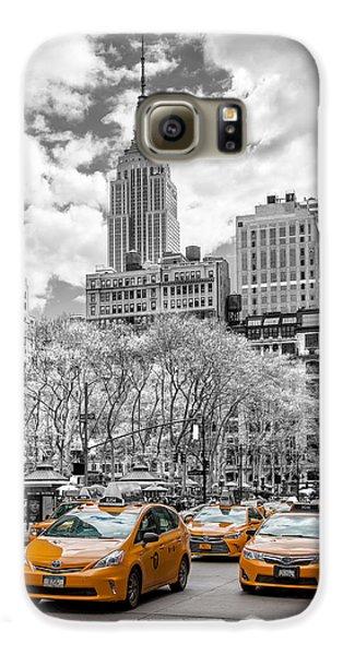City Of Cabs Galaxy S6 Case by Az Jackson