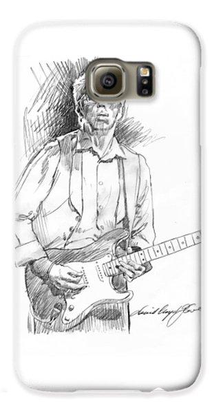 Clapton Riff Galaxy S6 Case by David Lloyd Glover