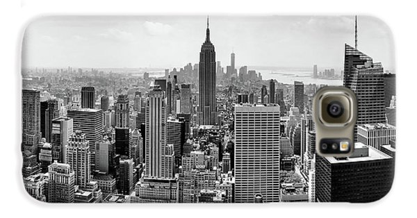 Classic New York  Galaxy S6 Case by Az Jackson