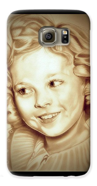 Classic Shirley Temple Galaxy S6 Case by Fred Larucci