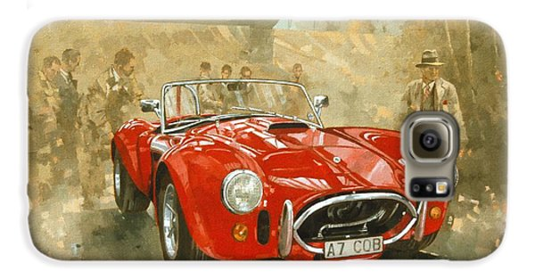 Cobra At Brooklands Galaxy S6 Case by Peter Miller