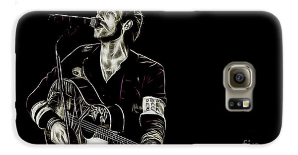 Coldplay Collection Chris Martin Galaxy S6 Case by Marvin Blaine