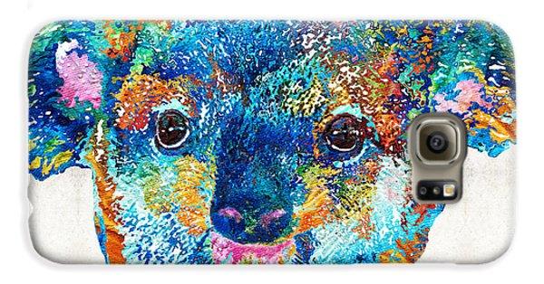 Colorful Koala Bear Art By Sharon Cummings Galaxy S6 Case by Sharon Cummings