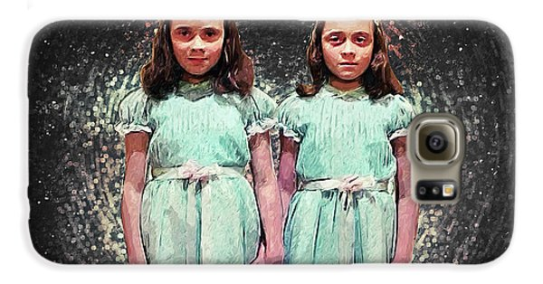 Come Play With Us - The Shining Twins Galaxy S6 Case by Taylan Apukovska