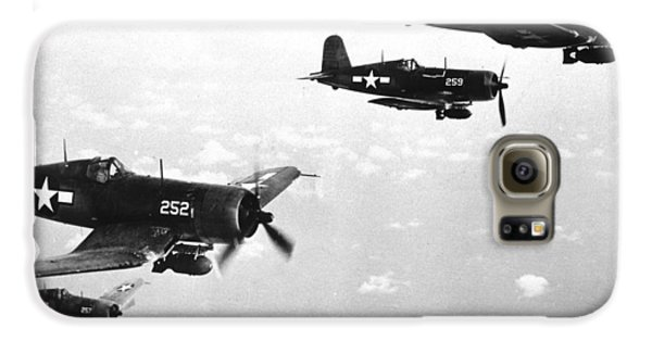 Corsair Planes  Us Airforce Galaxy S6 Case by American School