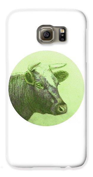 Cow II Galaxy S6 Case by Desiree Warren