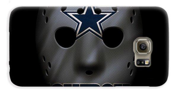 Cowboys War Mask 2 Galaxy S6 Case by Joe Hamilton