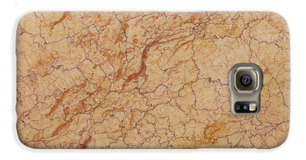 Crema Valencia Granite Galaxy S6 Case by Anthony Totah