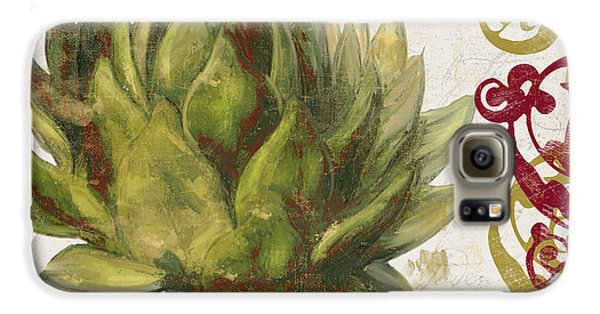Cucina Italiana Artichoke Galaxy S6 Case by Mindy Sommers