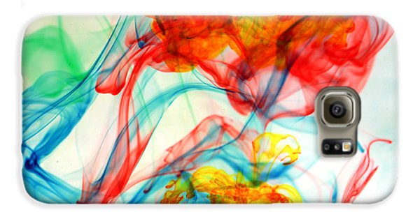 Dancing In Water Galaxy S6 Case by Michael Ledray
