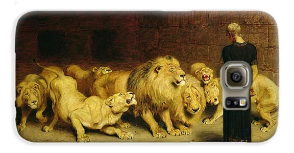 Daniel In The Lions Den Galaxy S6 Case by Briton Riviere