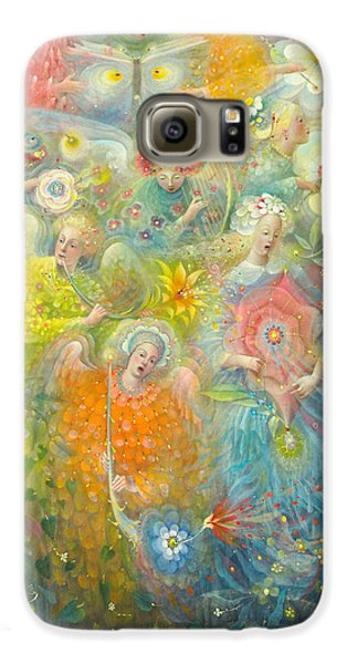 Daydream After The Music Of Max Reger Galaxy S6 Case by Annael Anelia Pavlova