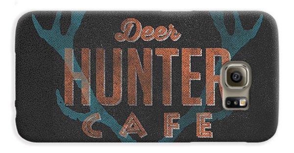 Deer Hunter Cafe Galaxy S6 Case by Edward Fielding