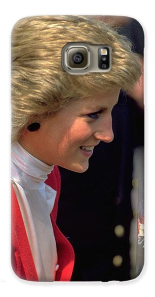 Galaxy S6 Case featuring the photograph Diana Princess Of Wales by Travel Pics