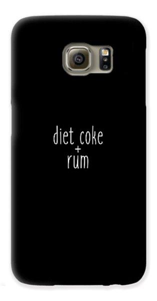 Diet Coke And Rum Galaxy S6 Case by Cortney Herron