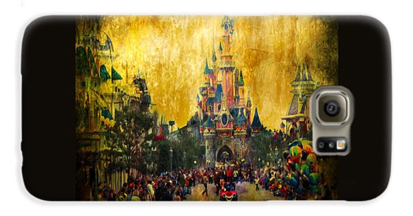 Disney World Galaxy S6 Case by Svetlana Sewell