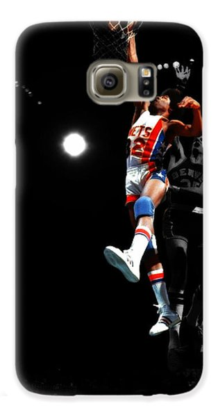 Doctor J Over The Top Galaxy S6 Case by Brian Reaves
