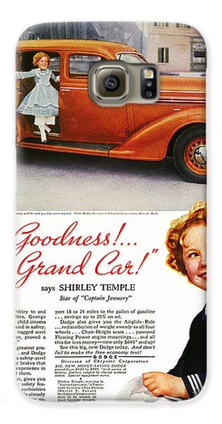 Dodge Automobile Ad, 1936 Galaxy S6 Case by Granger