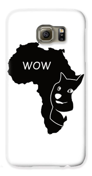 Dogecoin In Africa Galaxy S6 Case by Michael Jordan