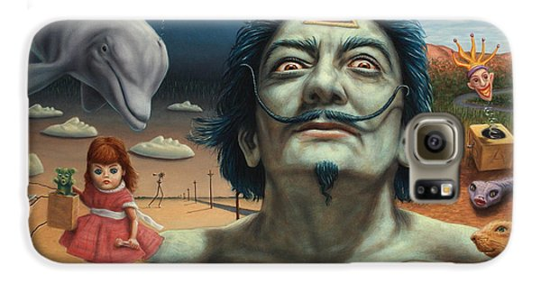 Dolly In Dali-land Galaxy S6 Case by James W Johnson