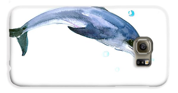 Dolphin Galaxy S6 Case by Suren Nersisyan