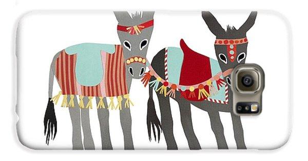 Donkeys Galaxy S6 Case by Isoebl Barber