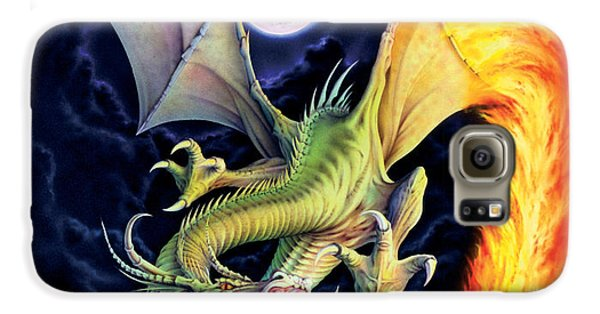 Dragon Fire Galaxy S6 Case by The Dragon Chronicles