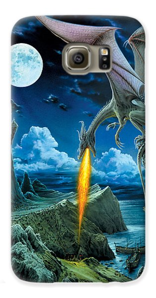 Dragon Spit Galaxy S6 Case by The Dragon Chronicles - Robin Ko