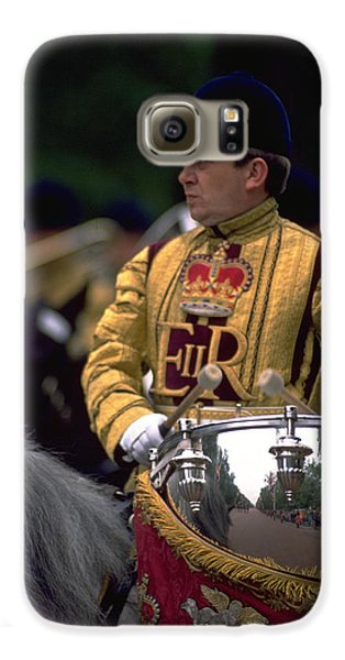 Galaxy S6 Case featuring the photograph Drum Horse At Trooping The Colour by Travel Pics