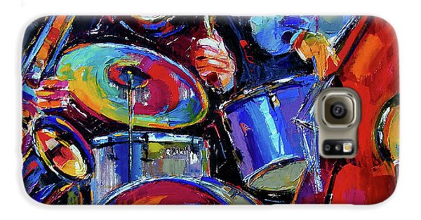 Drums And Friends Galaxy S6 Case by Debra Hurd