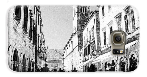 #dubrovnik #b&w #edit Galaxy S6 Case by Alan Khalfin